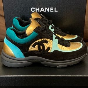 Authentic Chanel Trainers Size 38